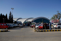 The airport in Srinagar, the capital of Jammu and Kashmir