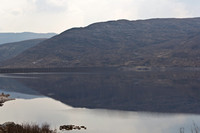 Beauty of a Loch and hills in the Scottish Highlands