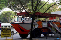 Amphibious vehicle used for ducktour in Singapore
