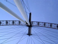 Mid Section of the London Eye wheel